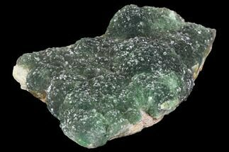 "Buy 8.8"" Botryoidal Green Fluorite Crystal Cluster - China - #99097"
