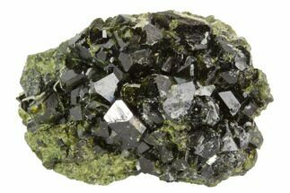 "1.7"" Epidote Crystal Cluster - Peru For Sale, #98951"