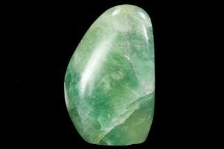 "4.7"" Polished Green Fluorite Freeform - Madagascar For Sale, #99581"