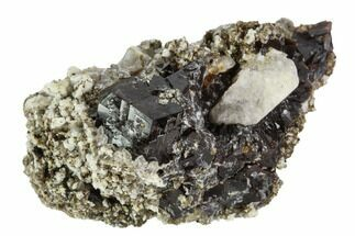 Garnet, Calcite, Feldspar & Mica - Fossils For Sale - #100401