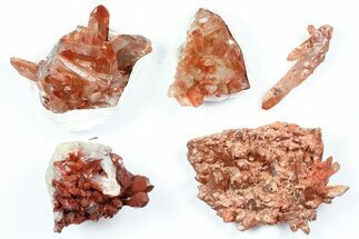 Quartz with Iron Oxide - Fossils For Sale - #101514