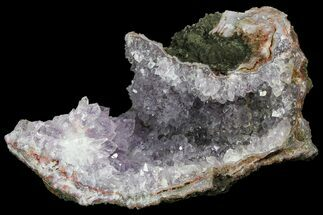 "Buy 5.9"" Amethyst Crystal Geode Section - Morocco - #103246"