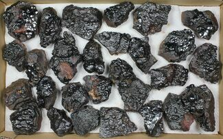 Buy Wholesale Lot: Kidney Ore (Botryoidal Hematite) - 28 Pieces - #103651