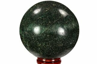 "2.7"" Polished Fuchsite Sphere - Madagascar For Sale, #104240"
