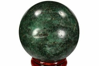 "Buy 1.9"" Polished Fuchsite Sphere - Madagascar - #104242"