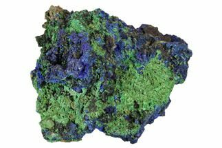 Azurite & Malachite - Fossils For Sale - #104379
