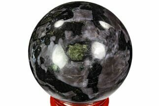 "Buy 1.95"" Polished, Indigo Gabbro Sphere - Madagascar - #104695"