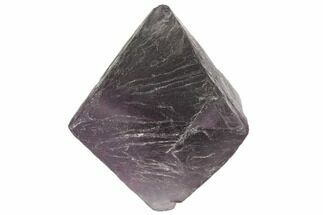 "1.72"" Fluorite Octahedron - Purple/Green For Sale, #104729"