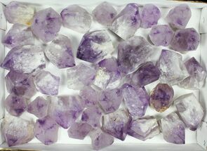 "Wholesale Lot: 1.5-2.6"" Amethyst Points - 37 Pieces For Sale, #105350"