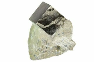 "Buy .8"" Pyrite Cube In Rock - Navajun, Spain - #105397"