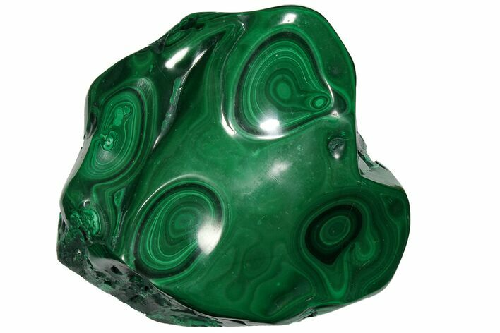 "5.7"" Polished Malachite Specimen - Congo"