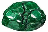 "4.1"" Polished Malachite Specimen - Congo - #106235-1"