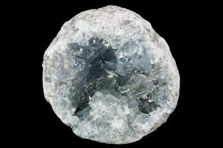 "2.8"" Sky Blue Celestine (Celestite) Crystal Geode - Madagascar For Sale, #106679"