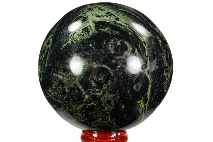 "3.15"" Polished Kambaba Jasper Sphere - Madagascar"