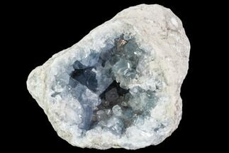 "5.2"" Sky Blue Celestine (Celestite) Geode - Madagascar For Sale, #107342"
