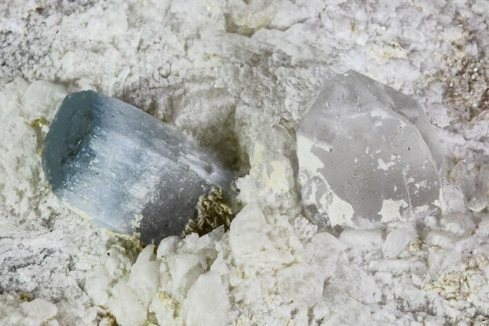 "2.2"" Aquamarine and Quartz in Albite Crystal Matrix - Pakistan"