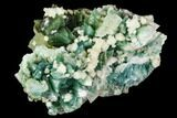 "3.7"" Apophyllite on Multi-Colored Heulandite - Sakur, India - #111579-1"