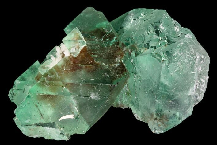 "1.8"" Green Fluorite Crystal Cluster - South Africa"