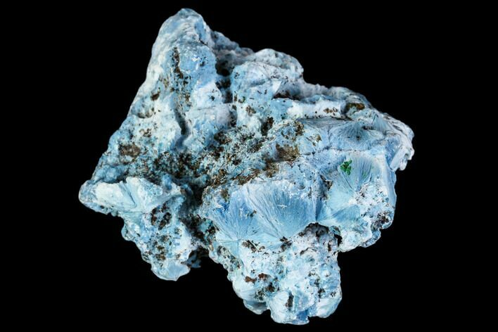 "1.45"" Light-Blue Shattuckite Specimen - Tantara Mine, Congo"