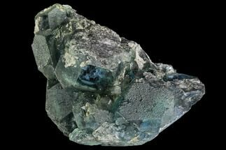 "2"" Green Fluorite Crystal Cluster - China For Sale, #111914"