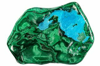 "Buy 4.8"" Polished Malachite Specimen - Congo - #112150"