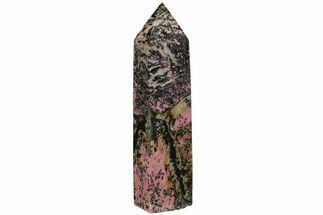 Rhodonite with Manganese Oxide - Fossils For Sale - #112383