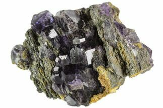 Fluorite & Quartz - Fossils For Sale - #112404