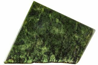 "4.4"" Polished Canadian Jade (Nephrite) Slab - British Colombia For Sale, #112730"