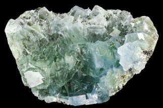 "Buy 3.1"" Green Cubic Fluorite Crystal Cluster - China - #112198"