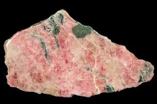 "7.1"" Polished Rhodochrosite Slab - Argentina For Sale, #113399"