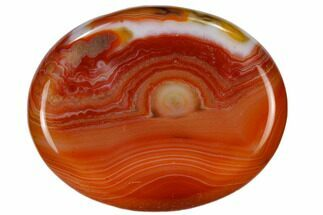 Buy Polished Carnelian Agate Worry Stones - #115369