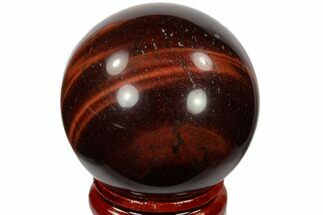 "Buy 1.6"" Polished Red Tiger's Eye Sphere - South Africa - #116089"