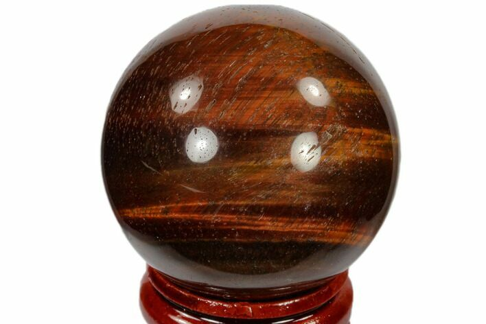 "1.55"" Polished Red Tiger's Eye Sphere - South Africa"