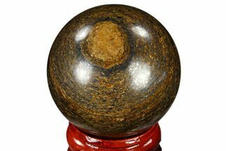 "Buy 1.6"" Polished Bronzite Sphere - Brazil - #115978"