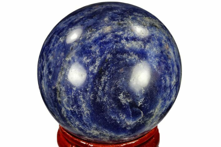 "1.6"" Polished Sodalite Sphere - Africa"