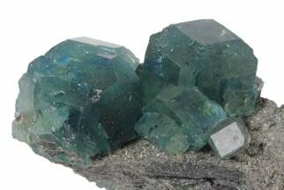 Fluorite & Quartz - Fossils For Sale - #120333