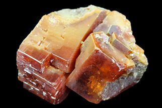 "Buy 1.1"" Red & Brown Vanadinite Crystals - Morocco - #117712"