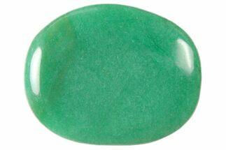 "1 3/4"" Polished Aventurine Flat Pocket Stone  For Sale, #121103"