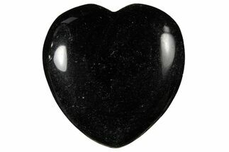 "Buy 1.6"" Polished Black Obsidian Heart - #121117"
