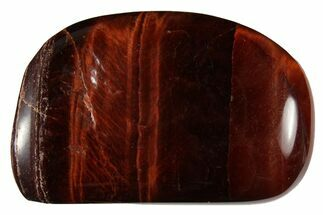 "Buy 1"" - 1.5"" Tumbled Red Tiger's Eye - #121147"