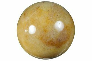 "1.2"" Polished ""Moonstone"" Sphere For Sale, #121151"