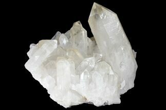 "6.7"" Clear Quartz Crystal Cluster With Large Point - Brazil For Sale, #121415"