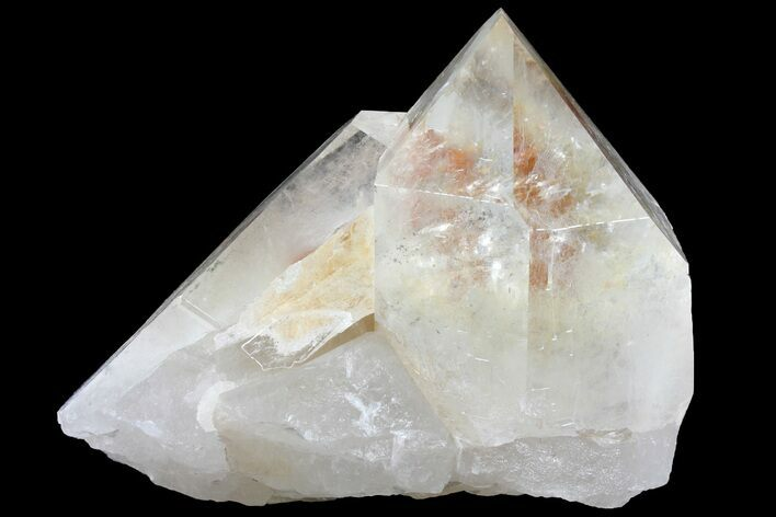 "6.7"" Large, Quartz Crystal With Hematite Inclusions - Brazil"
