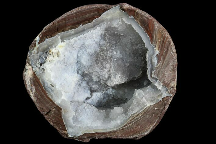 "3.05"" Crystal Filled Dugway Geode (Polished Half)"