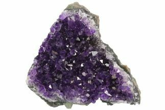 "4.2"" Dark Purple, Amethyst Crystal Cluster - Uruguay For Sale, #122087"