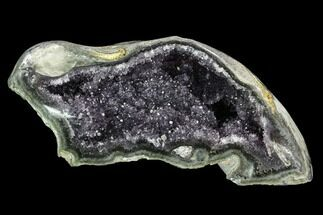"9.5"" Wide, Purple Amethyst Geode - Uruguay For Sale, #123779"