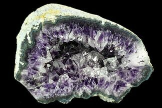 "7.5"" Wide, Purple Amethyst Geode - Uruguay For Sale, #123830"