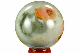 "2.4"" Polished Polychrome Jasper Sphere - Madagascar For Sale, #124154"