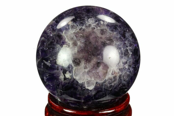 "2.45"" Polished Chevron Amethyst Sphere"
