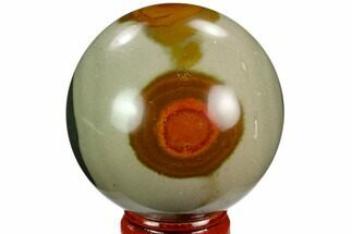 "Buy 2.2"" Polished Polychrome Jasper Sphere - Madagascar - #124129"